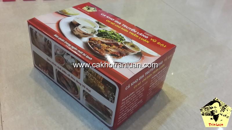 Cá kho Trần Luận ra mắt sản phẩm cá kho làng Vũ Đại đóng hộp